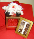 CHRISTMAS BOX WITH CHOCOLATES